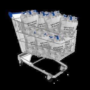 Caddie Packs d'eau