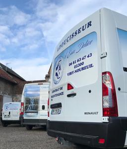 Camions entreprise Eau Délice Adoucisseur